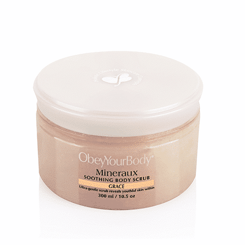 obeyyourbody mineraux soothing body scrub grace obeyyourbody official website. Black Bedroom Furniture Sets. Home Design Ideas