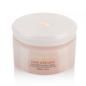 ObeyYourBody Dark & Beauty Soothing Body Scrub