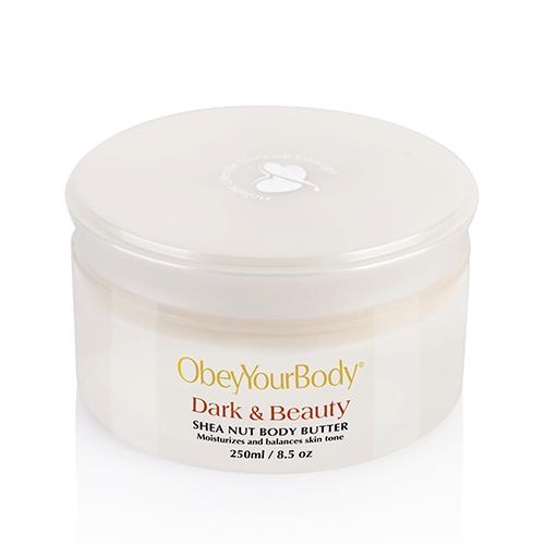 ObeyYourBody Dark & Beauty Shea Nut Body Butter