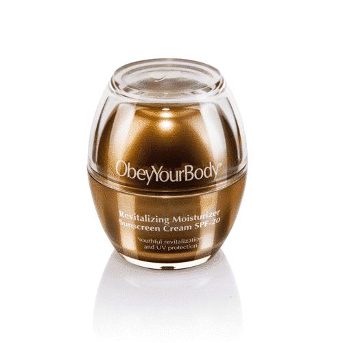ObeyYourBody Dark & Beauty Revitalizing Moisture Sunscreen SPF20