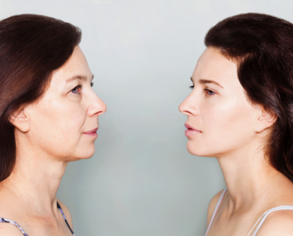 There's a Scientifically Proven Way to Transform Aging Skin